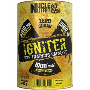 IGNITER PRE TRAINING CATALYST 400g - Nuclear Nutrition
